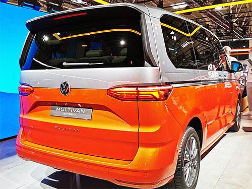 Стартовало производство нового поколения Volkswagen Multivan