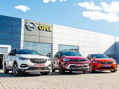 OPEL фиксирует небывалый рост продаж в Украине в 2021 году - OPEL
